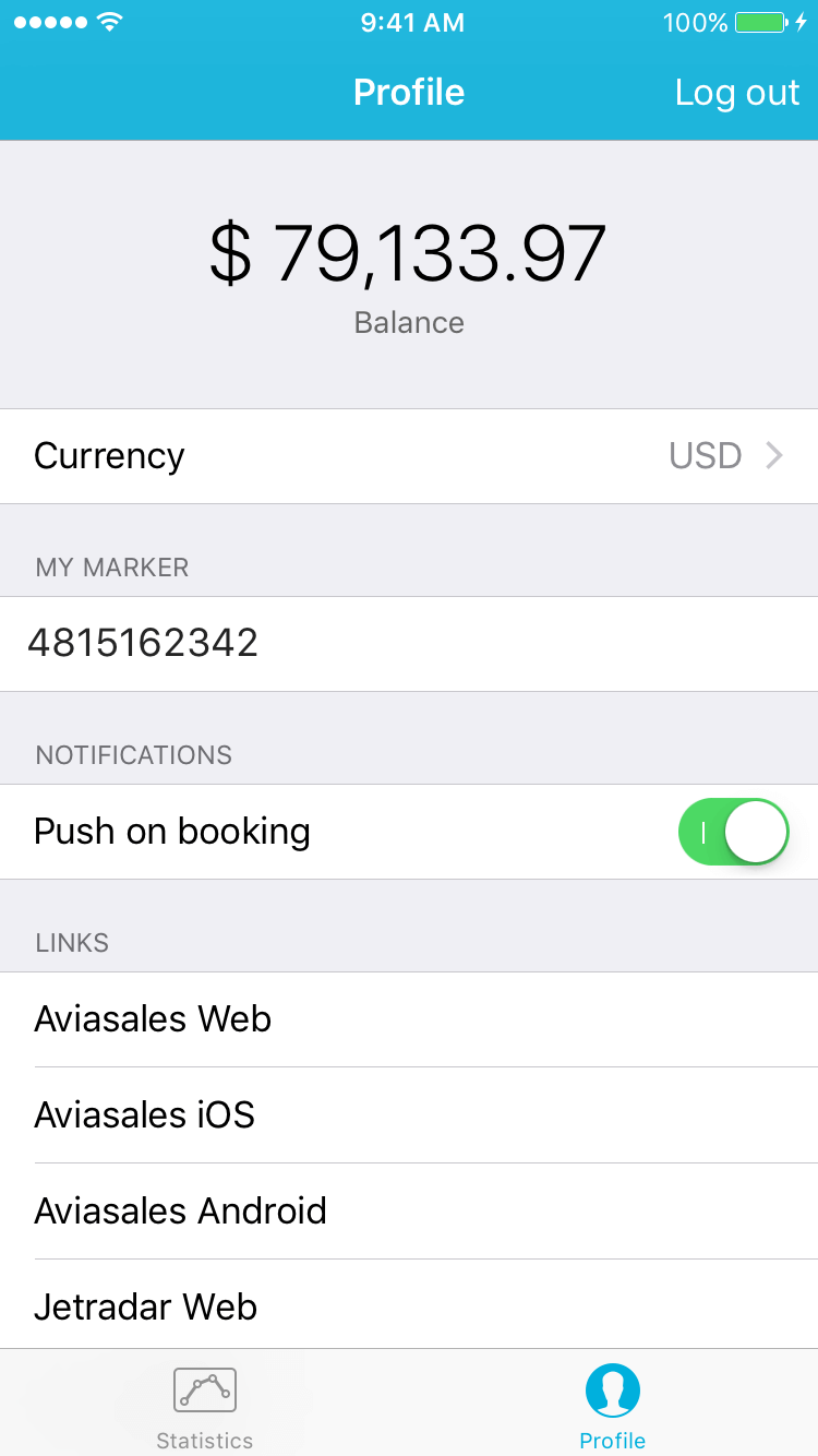 travelpayouts_ios_app_screen