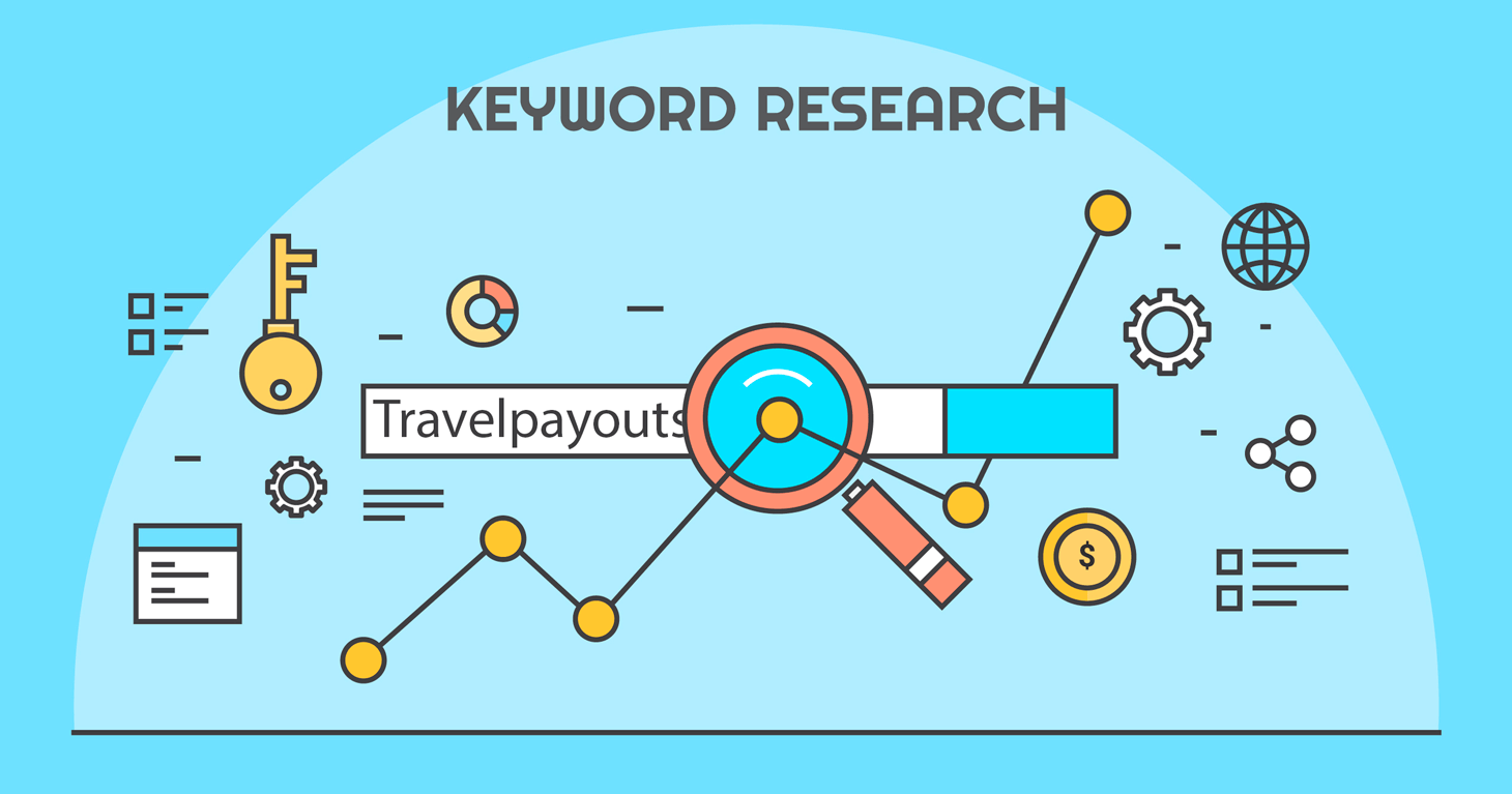 Keyword research in travel niche