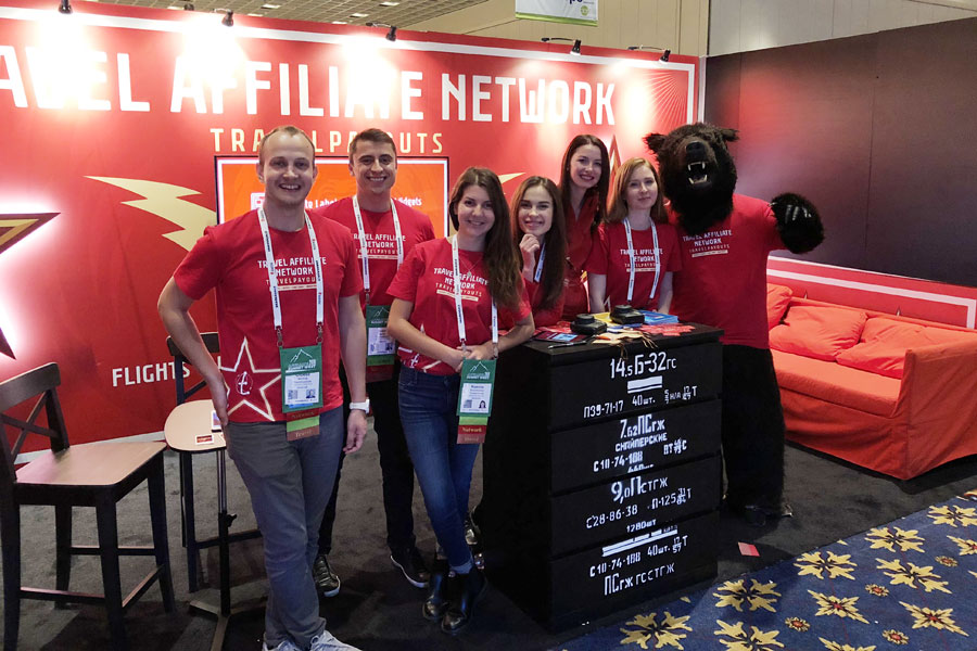 Travelpayouts at the Affiliate Summit West 2018 in Las Vegas: how it was