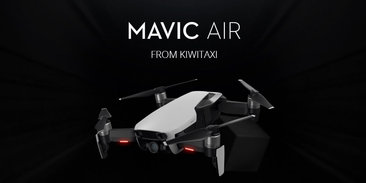 Sell transfers from Kiwitaxi to win the DJI Mavic AIR Drone