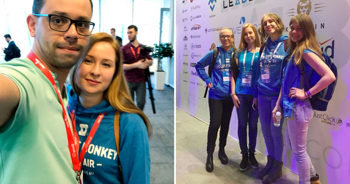 Travelpayouts attended 3 affiliate market events in Moscow