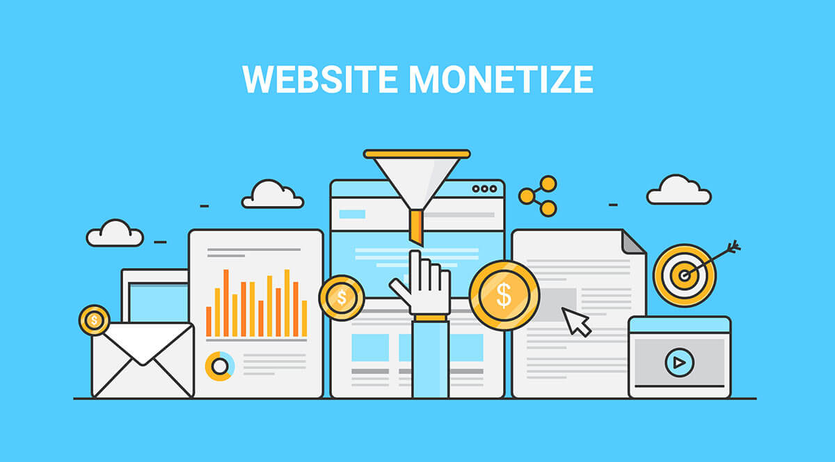 Website monetize