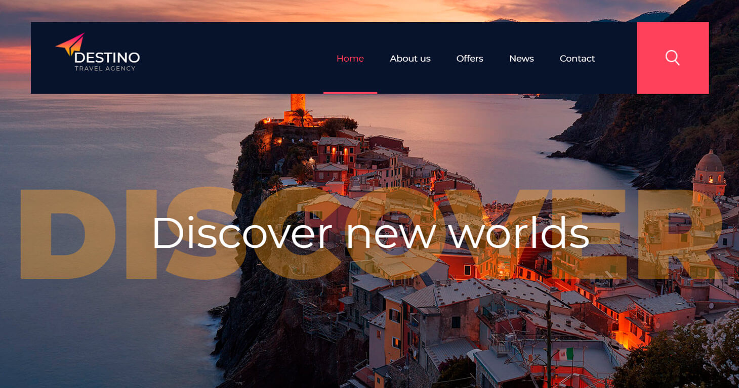 Free hotels and flights travel landing pages