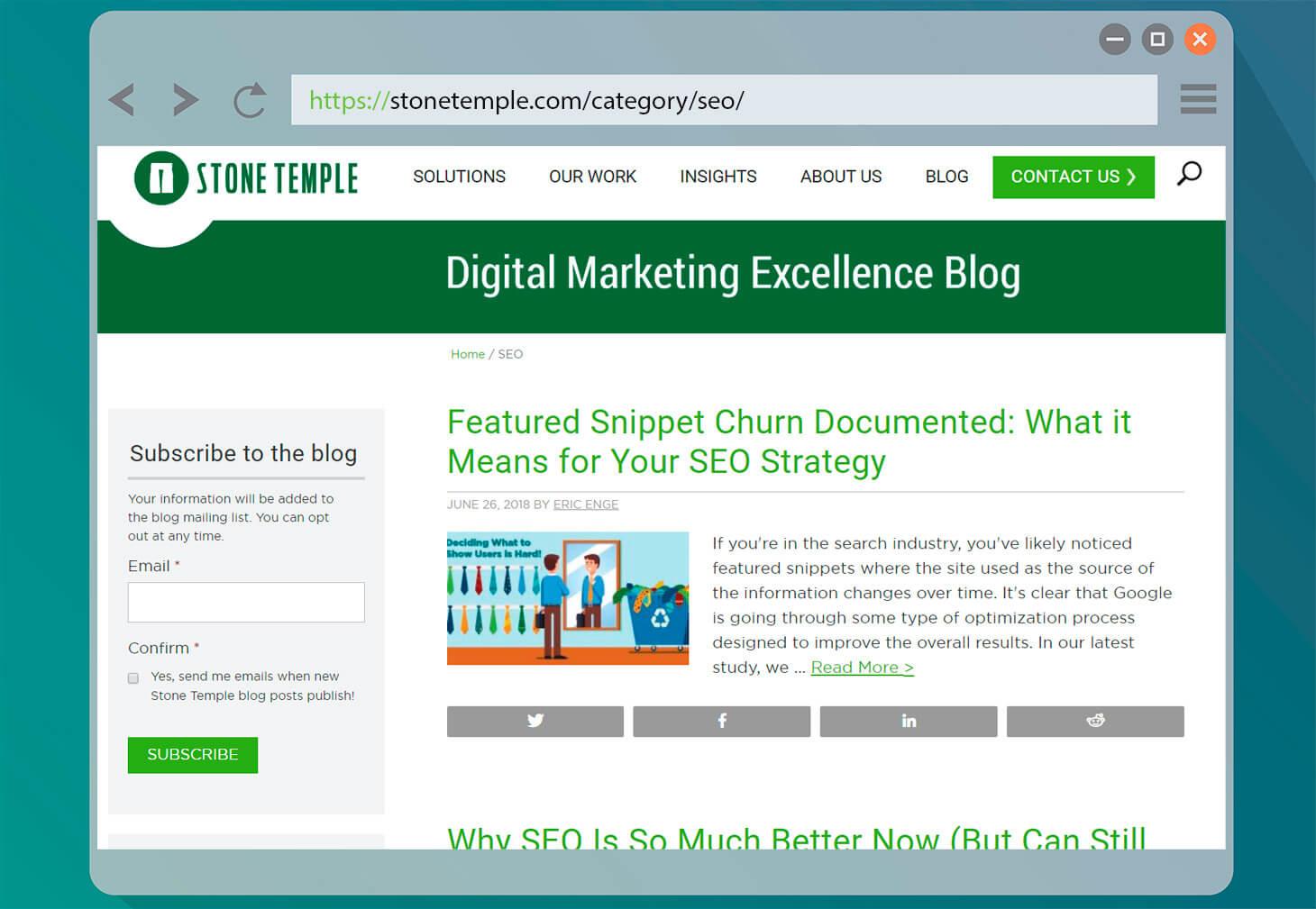 Stone Temple Digital Marketing Excellence Blog