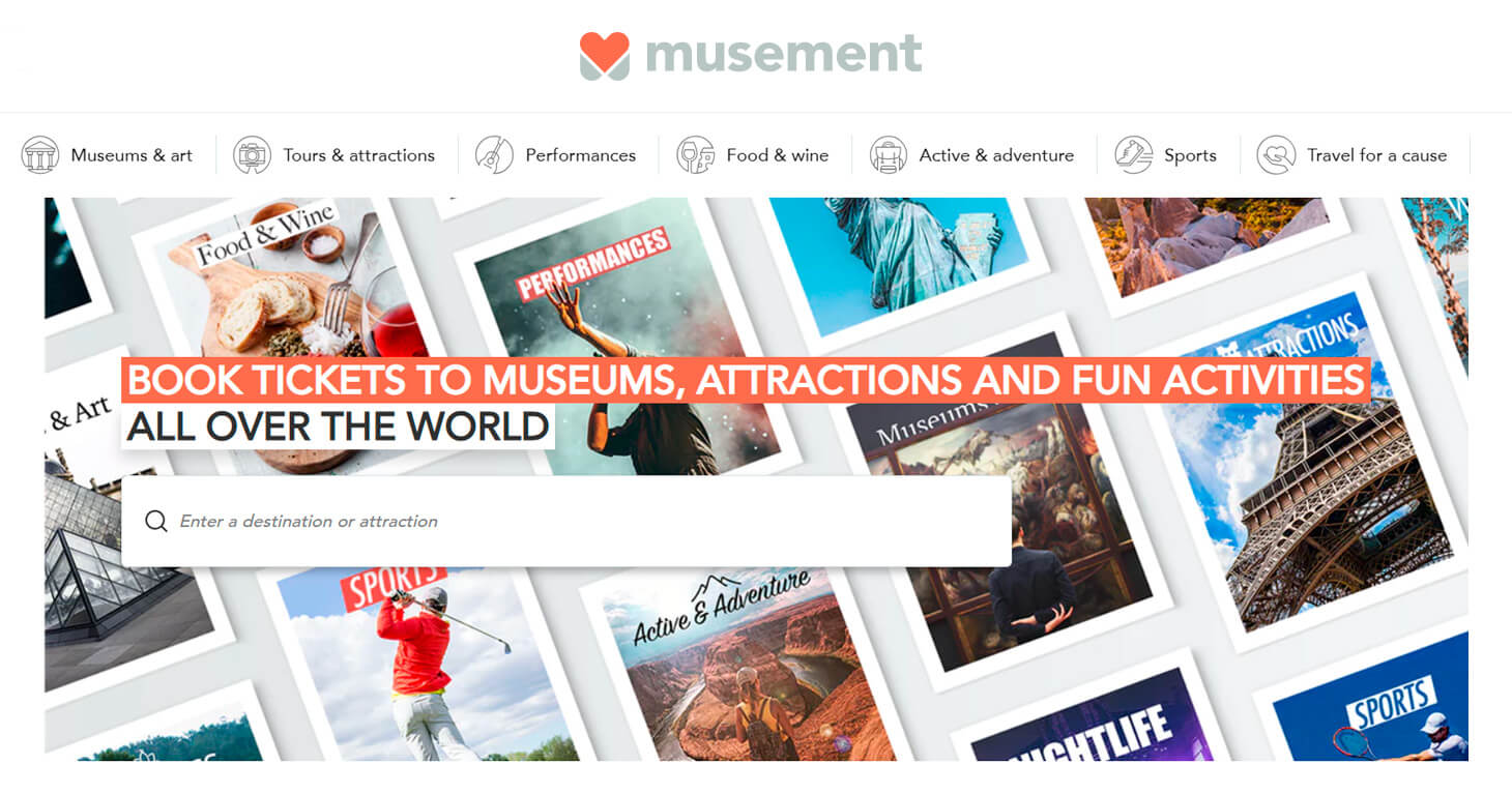 Earn on tours and activities with the Musement affiliate program