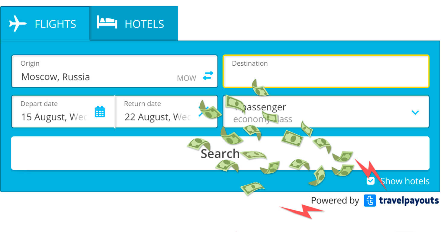 New feature for automatic referral attraction in Travelpayouts