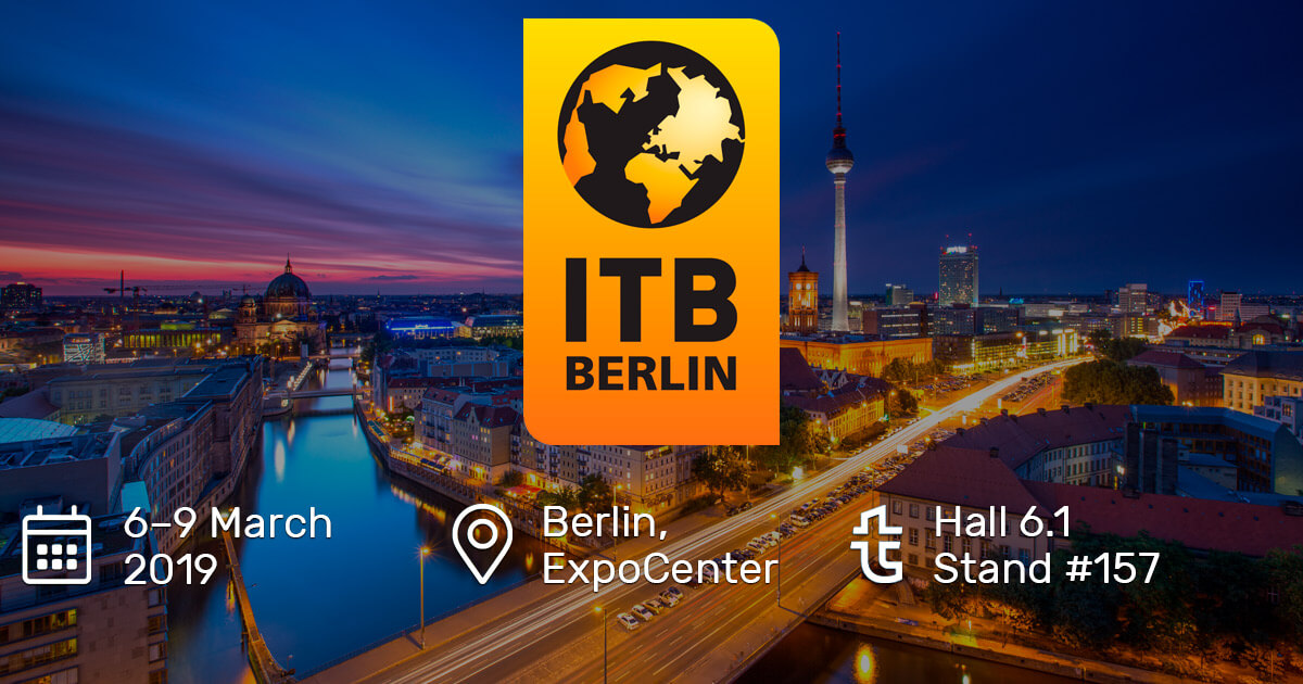 We are going to ITB Berlin