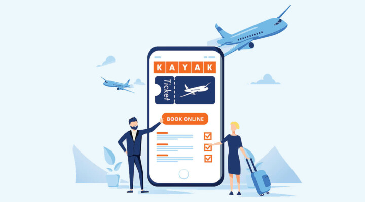 Earn on flight tickets with KAYAK