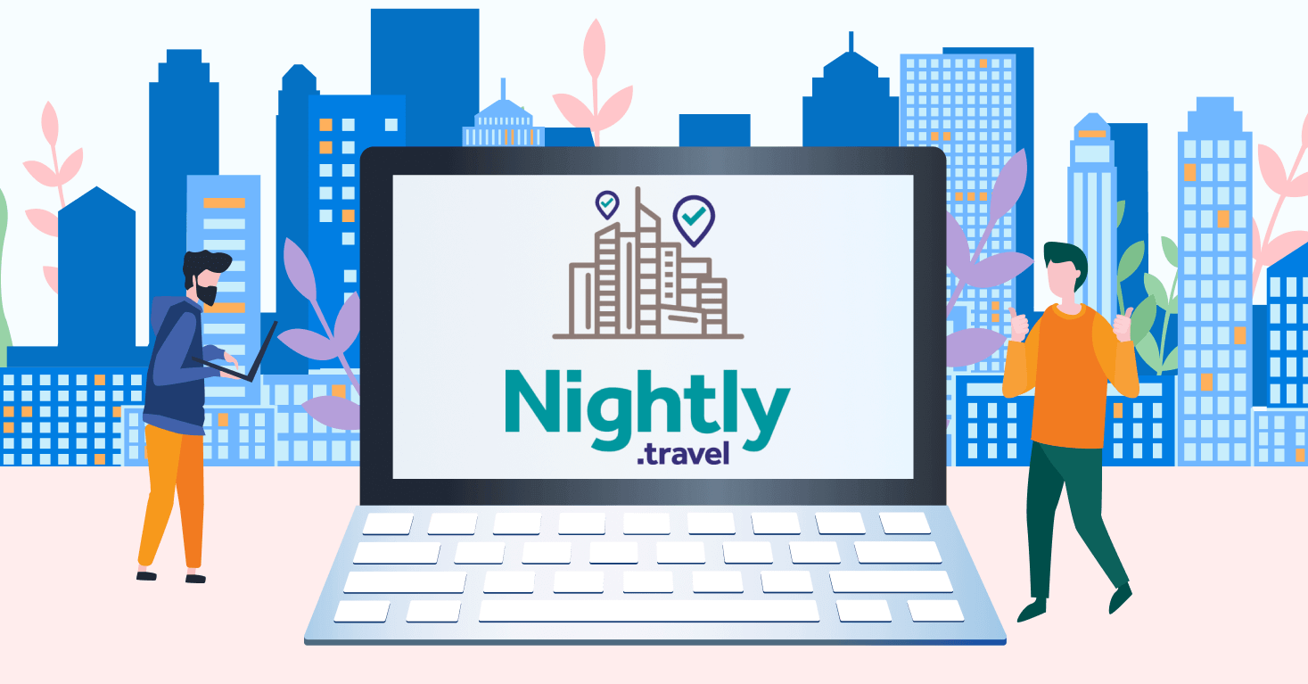 Earn on hotels in a new way with Nightly travel
