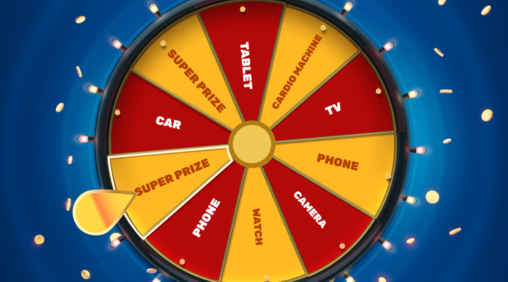 Spin the wheel to win prizes from Travelpayouts