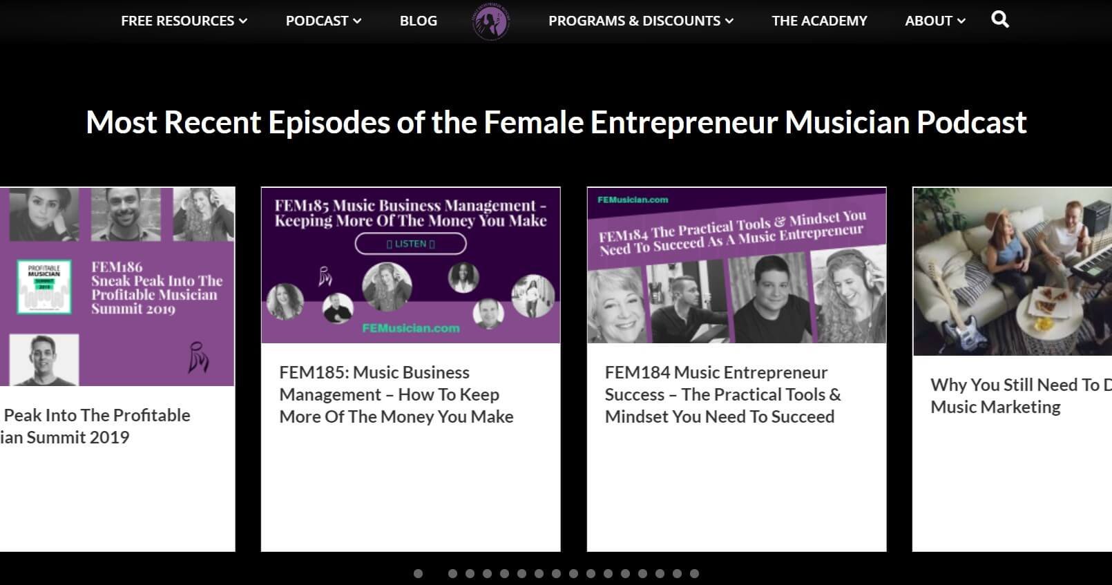 Career in music for women: FeMusician