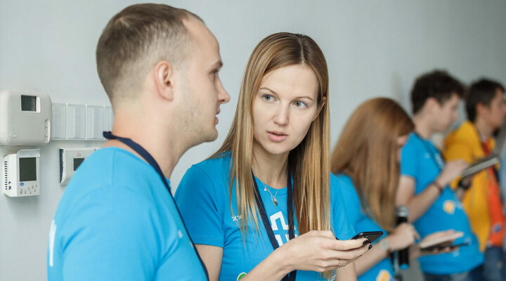Meet our team: Polina Akulenko, event manager