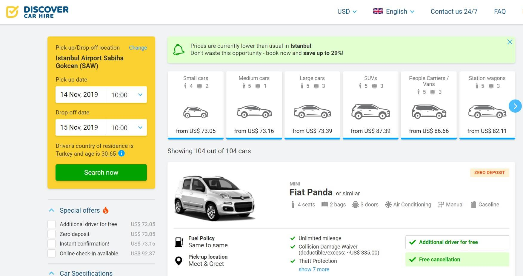 What is Discover Car Hire?