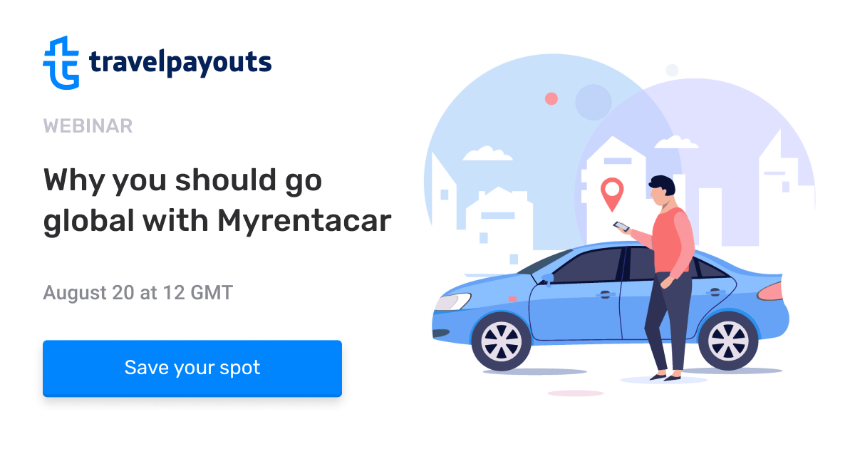 "Webinar: ""Why you should go global  with Myrentacar"""
