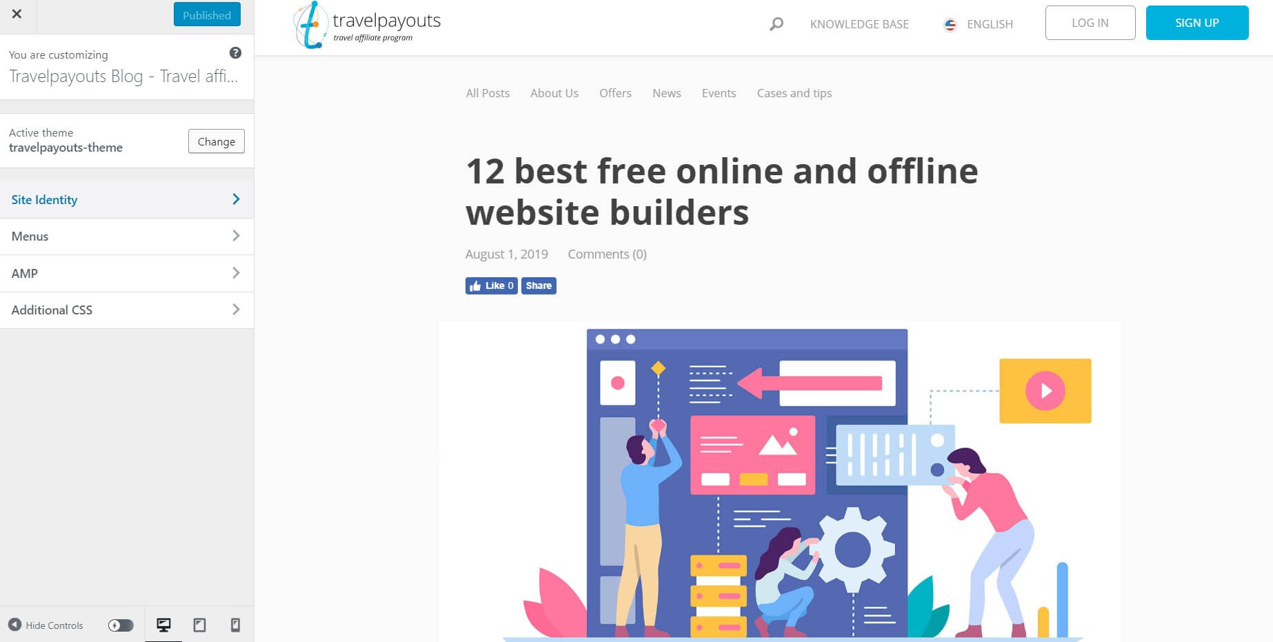 12 best free online and offline website builders