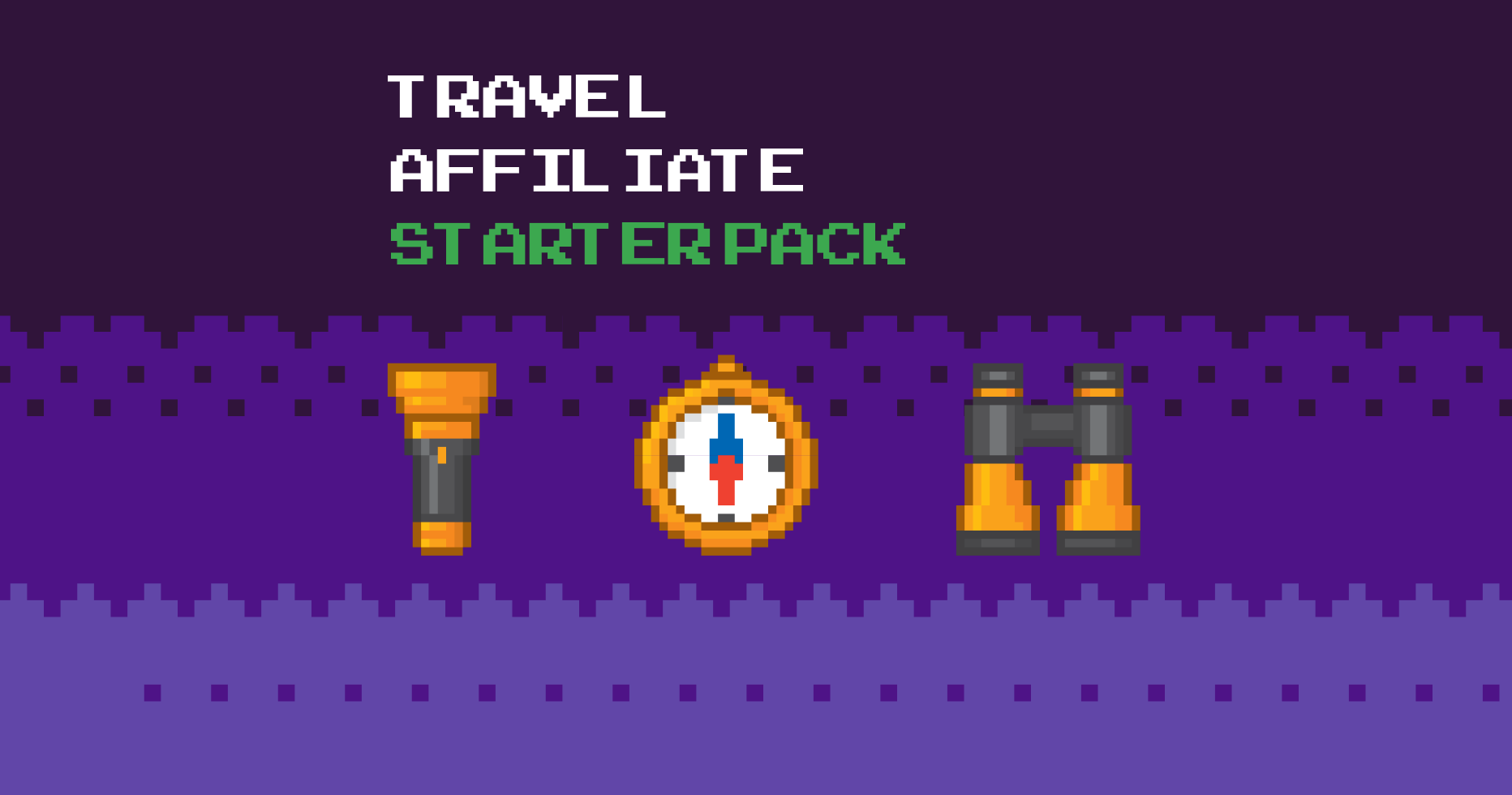 travel affiliate starter pack