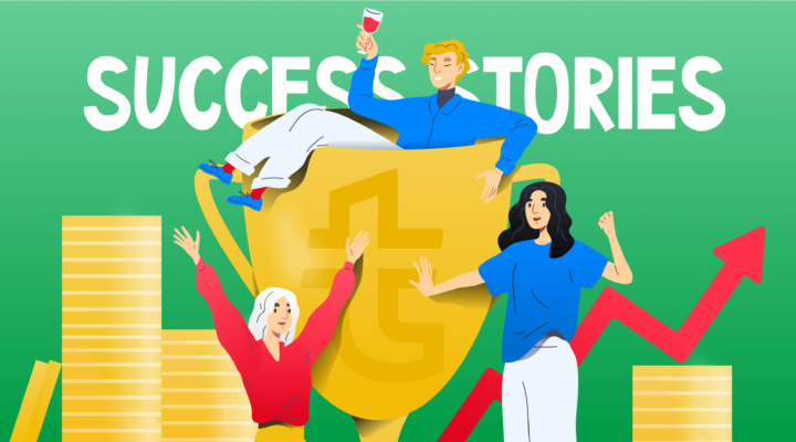 Affiliate marketers behind the scenes: Success stories
