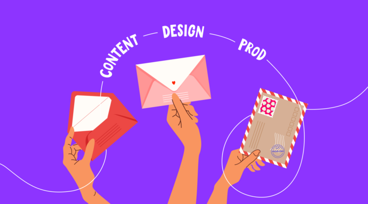 4 quick steps to create content and design for email newsletters