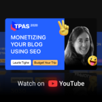 Monetizing your blog with SEO to grow organic traffic