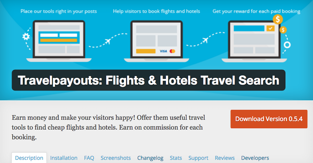 Updated Travelpayouts Plugin for WordPress