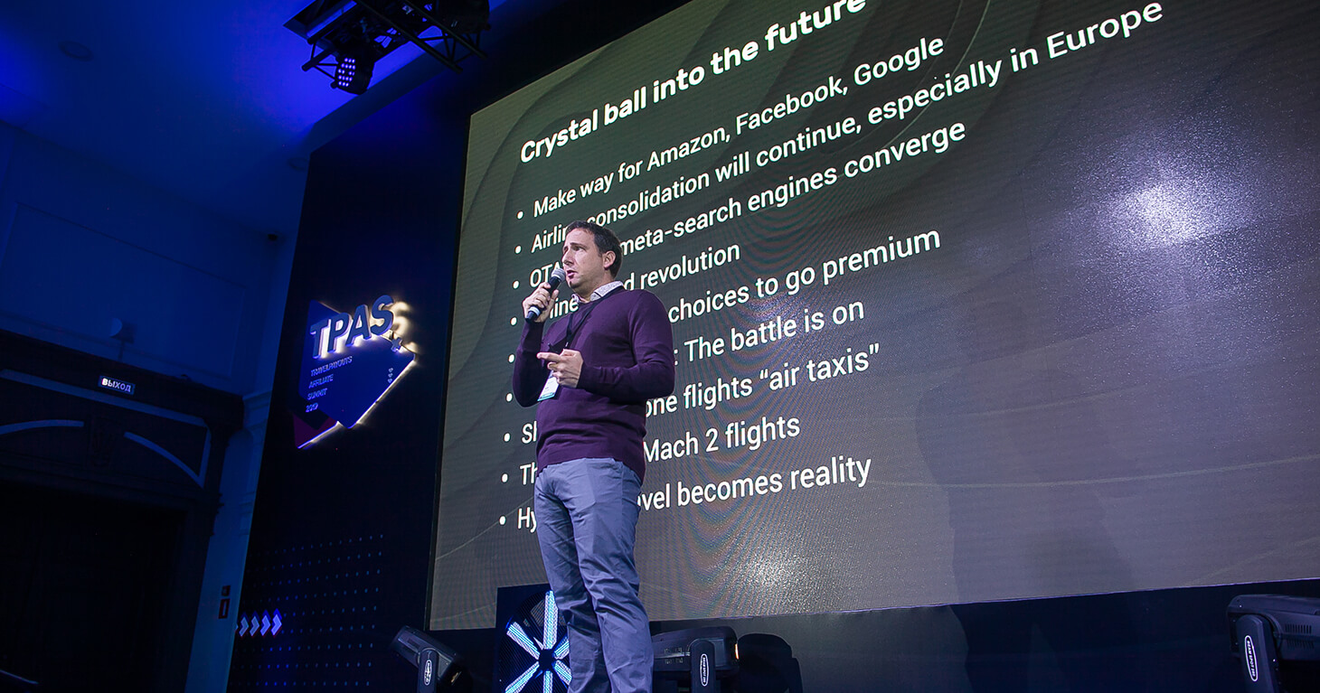 Travelpayouts Affiliate Summit 2019 выступление Марка из Kiwi.com