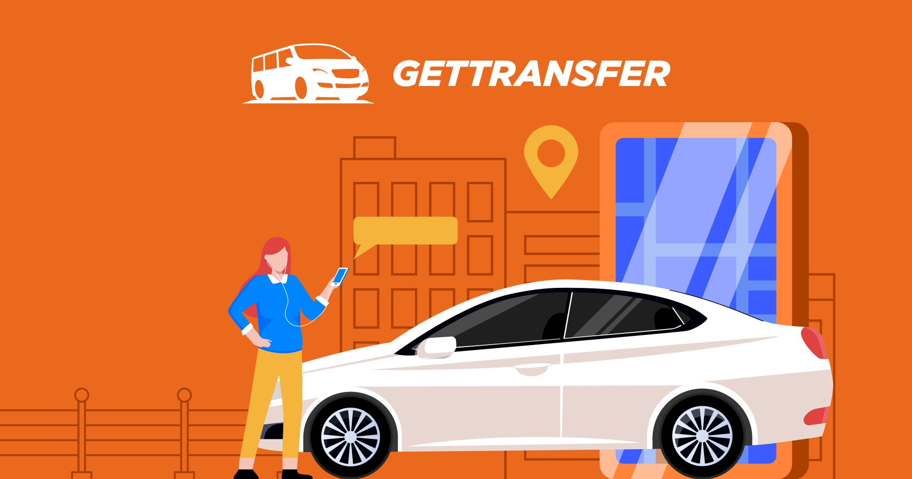 Партнёрка GetTransfer: трансфер в 108 странах мира